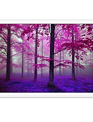 cheap -Rolled Canvas Prints Traditional, One Panel Canvas Square Print Wall Decor Home Decoration