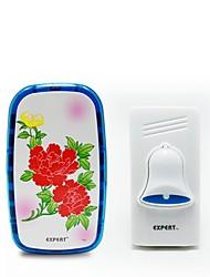Недорогие -E-8019 Беспроводное Один к одному дверной звонок Дзынь-дзынь дверной звонок