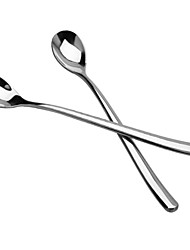 cheap -Solid Stainless Steel Serving Spoon, 1set
