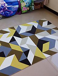 preiswerte -Kreativ Freizeit Polyester, Gehobene Qualität Rechteckig Regenbogen Teppich