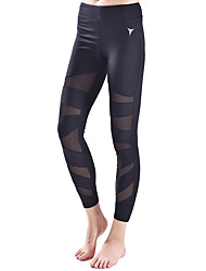 cheap -Yoga Pants Tights Breathability Natural Stretchy Sports Wear Women's Yoga Pilates Exercise & Fitness Running