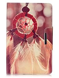 Недорогие -Кейс для Назначение SSamsung Galaxy Tab 4 7.0 Tab E 9.6 Tab E 8.0 Tab A 9.7 Бумажник для карт Кошелек со стендом С узором Авто Режим сна