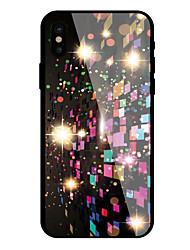 Θήκη Za Apple iPhone X iPhone 8 Uzorak Stražnja maska Geometrijski uzorak Tvrdo Kaljeno staklo za iPhone X iPhone 8 Plus iPhone 8 iPhone