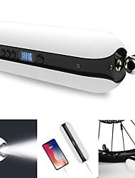 Недорогие -контроль точности ЖК-дисплей 2000mah банка энергии привело чрезвычайных фонарик интеллектуальный воздушный инфлятор для велосипеда