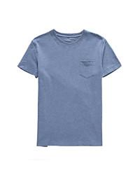 preiswerte -Herrn Baumwolle T-shirt, Rundhalsausschnitt