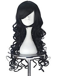 cheap -Lolita Wigs Lolita Black Princess Lolita Lolita Wig 75 CM Cosplay Wigs Halloween Wig For