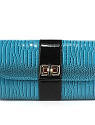 billige -Dame Tasker PU håndtaske Knapper Blå