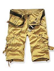 abordables -Hombre Tallas Grandes Chinos Pantalones - Un Color