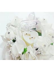 preiswerte -Plastik Ring Kissen Hochzeit Ganzjährig