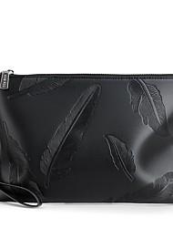 cheap -Men's Bags PU(Polyurethane) Clutch Feathers / Fur Blue / Black
