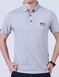 cheap -Men's Polo - Print Shirt Collar