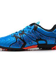 abordables -Unisexe Chaussures de football Vibram Football Antidérapant, Ultra léger (UL), Vestimentaire Cuir PVC Noir / Bleu