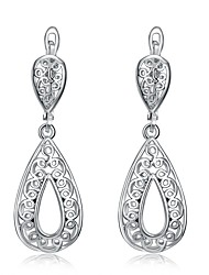 cheap -Women's Dangle Earrings With Gift Box Lovely Fashion Alloy Drop Jewelry Wedding Daily