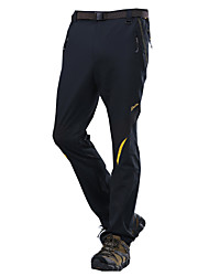cheap -Men's Hiking Pants Outdoor Quick Dry, Windproof, Wearable Cotton, Fleece Tights / Bottoms Exercise & Fitness / Breathable