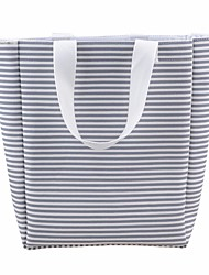 cheap -Women's Bags Canvas Tote Zipper for Casual All Seasons White Light Grey