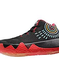 Homens sapatos Tule Primavera Outono Conforto Tênis Basquete para Atlético Azul Escuro Vermelho Branco/Preto Preto/Vermelho