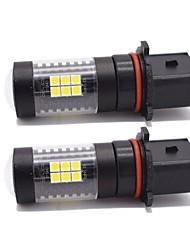 cheap -2pcs Light Bulbs 21W SMD LED 21 Fog Light For Chevrole / GMC Yukon / Yukon XL / Suburban 2018 / 2017 / 2016