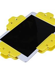 abordables -4 unids / lote herramientas de reparación de teléfono móvil clip de plástico abrazadera de sujeción para iphone samsung ipad tableta lcd