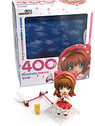 economico -Figure Anime Azione Ispirato da Cardcaptor Sakura Sakura Kinomoto PVC 9.5 cm CM Giocattoli di modello Bambola giocattolo