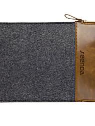 abordables -MacBook Funda para Color sólido Cuero de PU MacBook Pro 13 Pulgadas