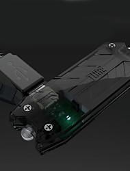 Недорогие -Nitecore T Series Фонари-брелоки 45 lm Светодиодная лампа излучатели 2 Режим освещения с батареей Защита от влаги Брелок Защита от пыли Походы / туризм / спелеология Естественно-зеленный Зеленый Синий