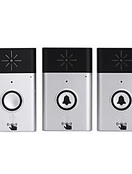 cheap -Ding dong Music Two to One Doorbell Sound adjustable Intercom Wireless Doorbell 200 Surface Mounted