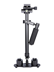 abordables -yelangu® 60cm stabilisateur de poche, appareil photo stabilisateur steadicam pour caméscope caméra vidéo dv dslr (noir)