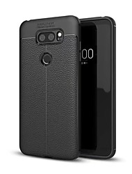 cheap -Case For LG V30 Q6 Shockproof Back Cover Solid Color Soft TPU for LG V30+ LG V30 LG Q6 LG G6