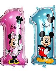 baratos -Aniversário Folha de alumínio Decorações do casamento Aniversário Todas as Estações