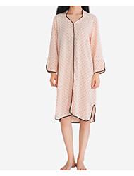 cheap -Women's Satin & Silk Pajamas - Lace, Polka Dot