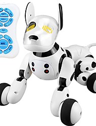 abordables -2.4G Wireless Remote Control Smart Dog Animaux Electroniques Chiens Animal En chantant Danse Marche Plastique ABS de grade A Cadeau