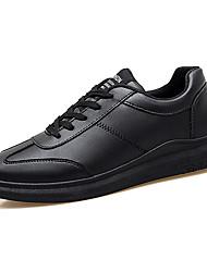 cheap -Men's Driving Shoes PU(Polyurethane) Summer Comfort / Couple Shoes Oxfords Wearable White / Black / Black / White