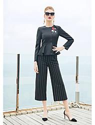 cheap -ZIYI Women's Embroidery Short Blazer - Floral / Botanical