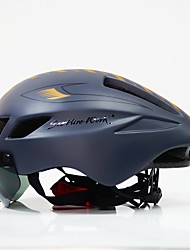 Недорогие -Взрослые Мотоциклетный шлем Аэрошлем 6 Вентиляционные клапаны CE Легкий вес ESP+PC Виды спорта Велосипедный спорт / Велоспорт / Велоспорт - Черный / Белый / Черный / красный / Черный + Золотой