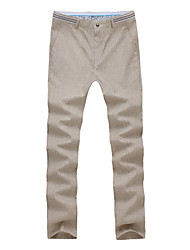 cheap -Men's Slim Jeans Pants - Solid Colored Color Block
