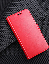 cheap -Case For LG K10 2018 G7 Card Holder Wallet Flip Magnetic Full Body Cases Solid Colored Hard PU Leather for LG V30 LG V20 MINI LG Q6 LG