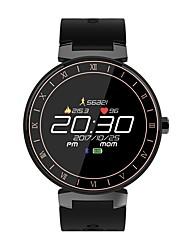 baratos -Relógio inteligente para Android 4.4 / iOS Monitor de Batimento Cardíaco / Calorias Queimadas / Lembrete de Mensagem / Controle de Câmera / Controle de APP Podômetro / Aviso de Chamada / Monitor de