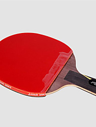 cheap -DHS® Hurricane WANG CS Ping Pang/Table Tennis Rackets Wooden Carbon Fiber Rubber Short Handle Pimples