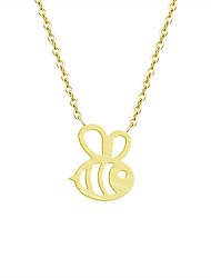 cheap -Women's Pendant Necklace - Bee Fashion Gold, Silver Necklace For Daily, Work