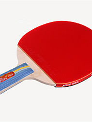 abordables -DHS® E306 Ping Pang/Tabla raquetas de tenis Madera Caucho 3 Estrellas Mango Corto