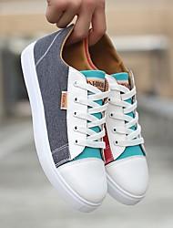 abordables -Homme Chaussures Tissu Hiver Confort Basket pour Décontracté Noir Bleu