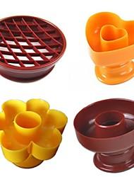 cheap -4pcs Rectangular Cooking Utensils Plastic DIY Cake Molds