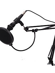 baratos -KEBTYVOR E-300 Com Fio / 3.5mm Microfone Microfone Microfone Condensador Microfone Portátil Para Microfone de Computador