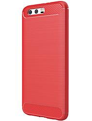 Недорогие -Кейс для Назначение Huawei Honor 9 Матовое Кейс на заднюю панель Сплошной цвет Мягкий ТПУ для Honor 9