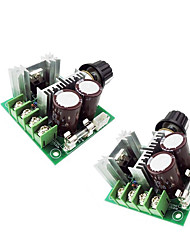cheap -2pcs 12 V Strip Light Accessory Dimmer Switch Aluminum for LED Strip light