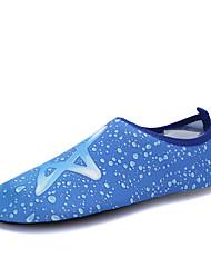 お買い得  -女性用 靴 弾性布 夏 コンフォートシューズ アスレチック・シューズ ウォーターシューズ / 全天候型トレッキングシューズ フラットヒール クローズトゥ ブルー