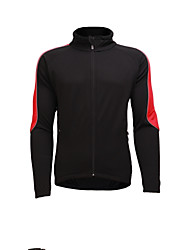 cheap -Jaggad Men's Long Sleeve Cycling Jersey - Red Bike Jersey, Breathable