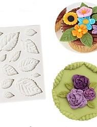 cheap -1pc Rectangular Cake Silicone DIY 3D Cake Molds
