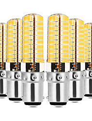 cheap -YWXLIGHT® 6pcs 7W 600-700 lm E14 G9 G4 BA15D LED Bi-pin Lights T 80 leds SMD 5730 Dimmable Decorative Warm White Cold White 110-130V