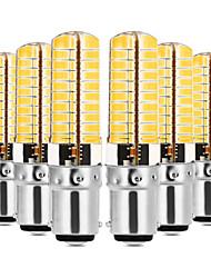 Недорогие -YWXLIGHT® 6шт 7W 600-700lm E14 G9 G4 BA15D Двухштырьковые LED лампы T 80 Светодиодные бусины SMD 5730 Диммируемая Декоративная Тёплый
